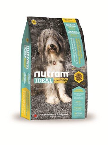 Nutram hond gevoelige huid/mantel/magen lams- en bruine rijst met hele ei-recept, 2,72 kg