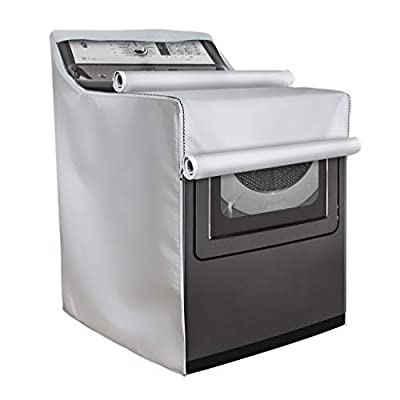 Front Load Machine Cover,Washer/Dryer Cover for Washing Machine Top Load Washers/Dryers, All Weather Protection (W29in D28in H40in)