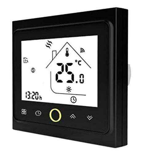 Ventilador de 4 tubos WiFi Smart Central Air Acondicionador Termostato Controlador de temperatura Unidad de bobina Funciona con Alexa Home