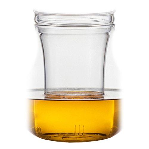 Jenaer Glas Relax Family Glassieb für Teekanne (120148), Ersatzteil, Ersatz Glas, H 12.7 cm, 120150