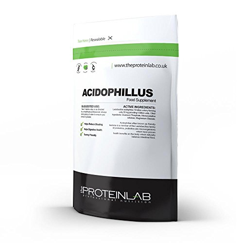 Acidophilus Lactobacillus Probiotics, Digestive Health Supplement, 30-360 Tablets, 5 Billion CFU (60 Tablets - Foil Pack)