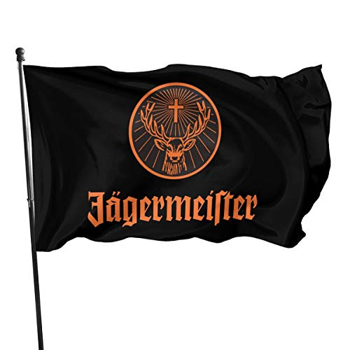 N/ Jagermeister Flagge, Polyester, 7,6 x 12,7 cm