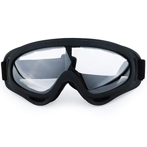 Rebslu Ski bril Winter sneeuw outdoor sport paardrijden bergbeklimmen winddicht en anti-mist anti-shock enkele laag mannen en vrouwen ski-bril transparant