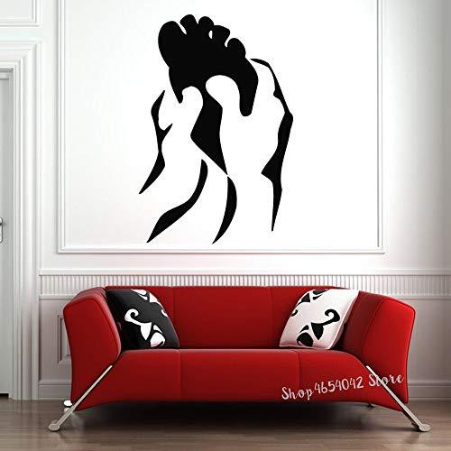 Tianpengyuanshuai Schönheitssalon wasserdicht Vinyl Wand Spa Massage Wandfurnier Hautpflege Fußmassage Wandaufkleber 33X50cm