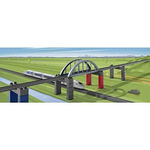 """Märklin my world 72218 - Baustein-Set """"Hochbahn-Brücke"""", Spur H0"""