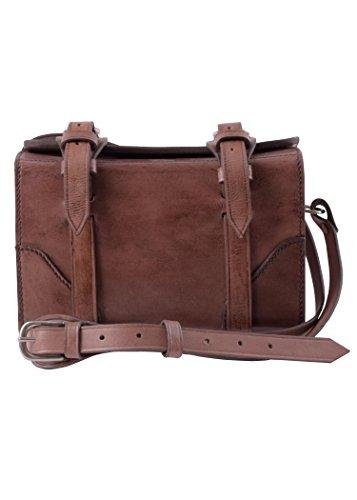 Patronentasche aus Leder, mit Schultergurt