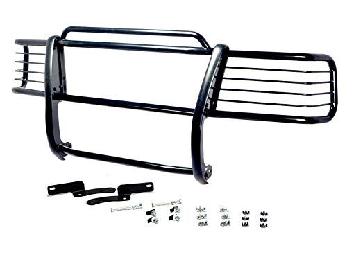 Hunter Premium Truck Accessories Black Grille Guard Compatible for 1999-2002 Chevy Silverado 2500HD/3500HD
