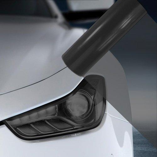 1.2M x 30CM Black Car Headlight Fog Light Tint Film