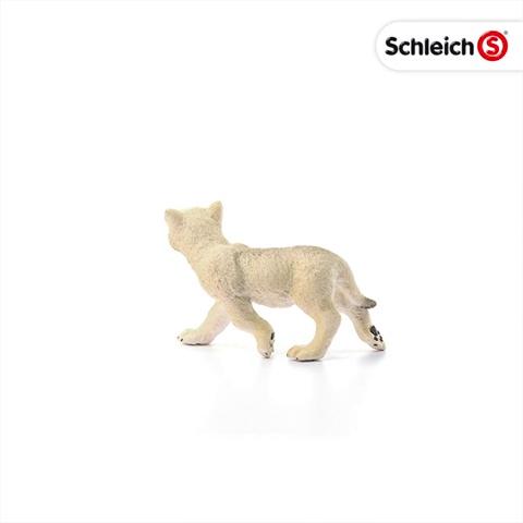 Wild Vida 14804 Schleich Ártico Wolf Cub figura plástica