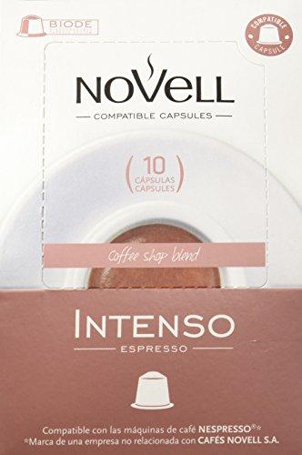 Cafes Novell Pack Intenso - 40 Cápsulas