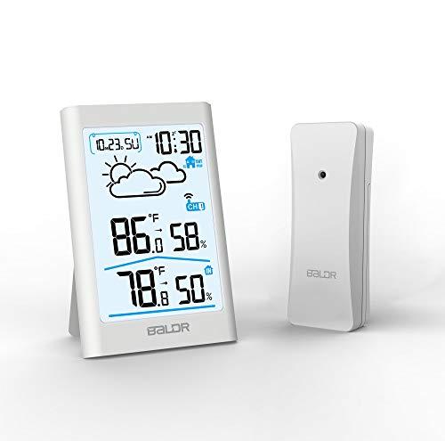 termómetro digital blanco fabricante BALDR