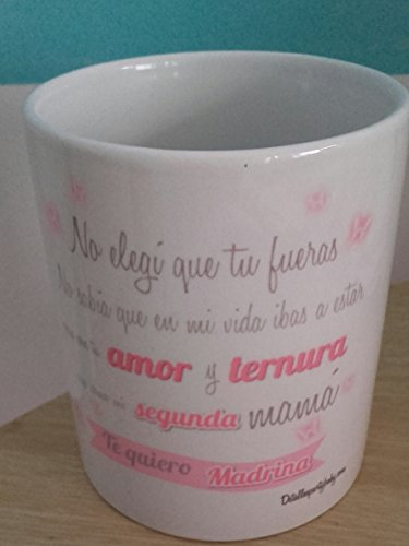 Detalles Party baby Taza para Madrina