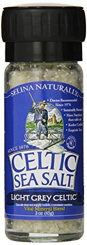 Celtic Sea Salt Light Grey Celtic Large Grinder, Sea Salt, 3 Ounce (Pack of 2)