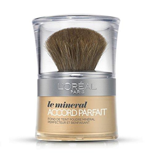 L'OREAL - Fond de teint poudre - Le Minéral Accord Parfait - D1 ivoire doré