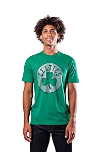 ULTRA GAME NBA APPAREL: Officially Licensed by The NBA (National Basketball Association), Ultra Game NBA features innovative designs with forward thinking graphics and textures. COMFORTABLE FIT: Soft/lightweight material, athletic fit, rib knit colla...