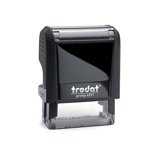 Trodat Printy 4911 Personalized Individual Custom Self Inking Stamp (9/16' x 1-1/2')