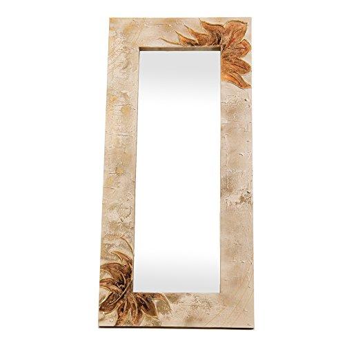 Lohoart L-1151-1 - Espejo Sobre Lienzo Pintado Artesanal