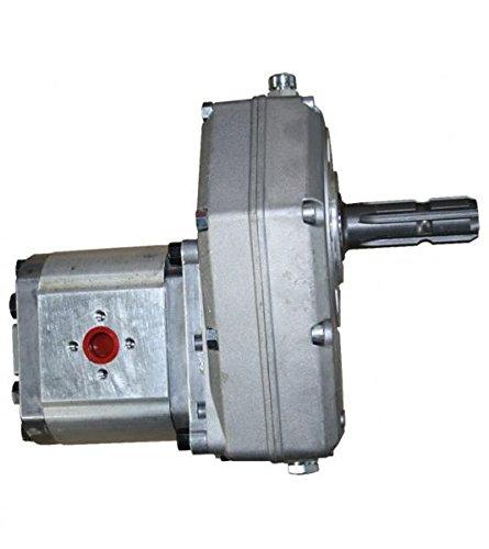 Zapfwellengetriebe Stummel mit Hydraulikpumpe (Zahnradpumpe BG 3), Schluckvolumen wählbar Größe 28 ccm