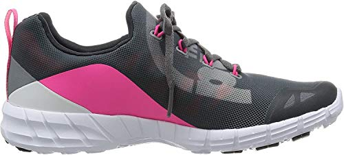 Reebok Zpump, Scarpe Low-Top Donna, Multicolore (Alloy/Grey/Pink/Coal), 40 EU