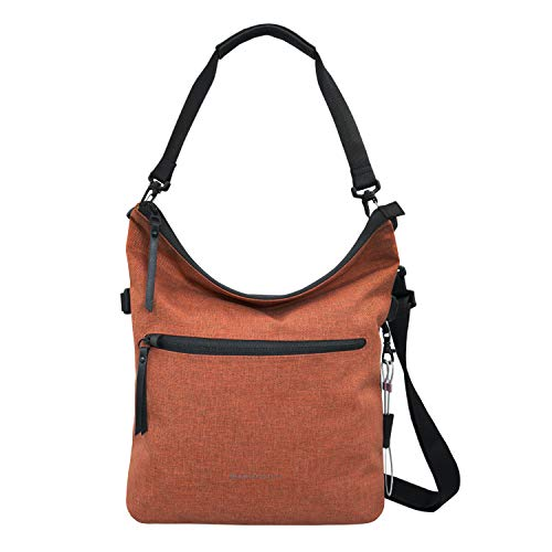 Sherpani Vale, Anti Theft Travel Crossbody Bag, Tote Bag and Shoulder Bag for Women, with RFID Blocking Sleeve (Copper)