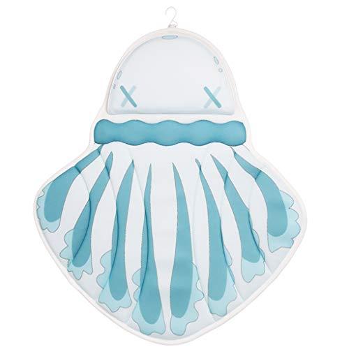 TGjY Badkuip mat 3D Marine Series Jellyfish Badkussen Badmat Badkussen Massage Kussen Koeien Print Antislip Badkussen Badmat