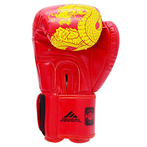 SJYT Boxhandschuhe für Training & Muay Thai Maya ausblenden Leder Mitts, Sparring Boxsack-Fokus Kickboxen, Kampf 6 Unzen, 8 Unzen, 10 Unzen, 12oz.14oz,6oz