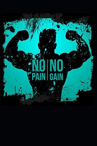 Dein Fitness Tagebuch. no pain,no gain: Egal ob laufen, schwimmen, steps oder Muskelaufbau.