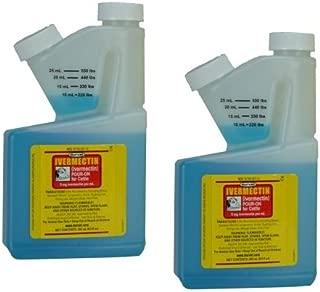 Durvet Ivermectin Pour On Dewormer 250mL 2 Pack