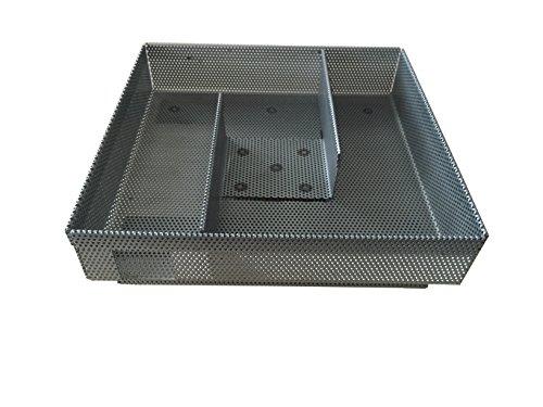 EuroSmoker Kalträucher-Einsatz aus Edelstahl für Räucherschränke und Räucheröfen