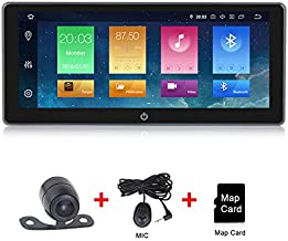 Android 9.0 Car Radio 10.25 inch IPS Touch Screen Double Din Car Stereo GPS Navigation Adjustable Viewing Angles Head Unit Supports WiFi 4G Bluetooth
