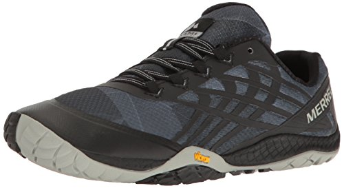 Merrell Women's Glove 4 Trail Runner,Black,8 M US