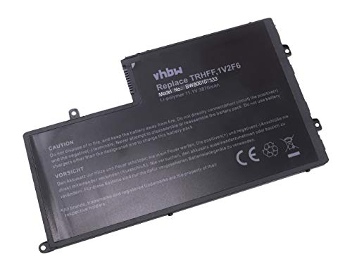 Batterie vhbw 3870mAh (11.1V) pour Ordinateur, Notebook Dell Inspiron 15, 15 5000, 15-5547, 5547, N5547. Remplace: 1V2F6, DL011307-PRR13G01, TRHFF
