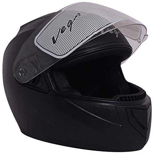 Vega Edge Full Face Helmet (Black, M)