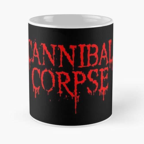Premeoproducts Death Metal Cannibal Heavy Corpse Best 11 oz Kaffeebecher - Nespresso Tassen Kaffee Motive