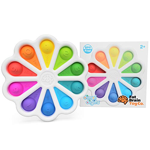 Fat Brain Toys Dimpl Digits Baby Toys & Gifts for Ages 2 to 3