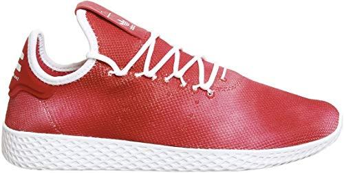adidas Mens Originals Mens Pharrell Williams Tennis HU Holi Trainers in Red - UK