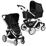 ABC Design Kinderwagen Salsa 4 – Kombi-Wagen für Neugeborene & Babys bis...
