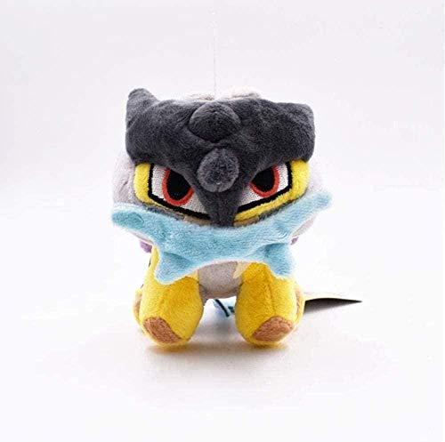 NC56 Plush Doll Raikou Soft Toy Kids Stuffed Toys for Kids Children 15Cm Gifts