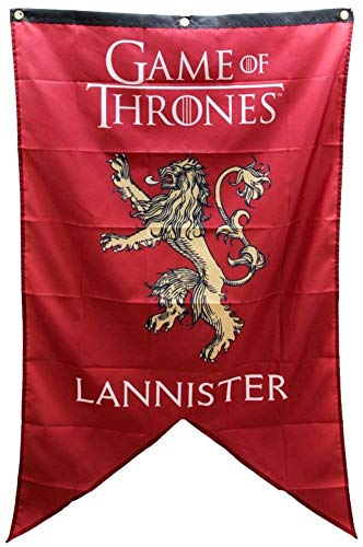 Game Of Thrones Lannister Family Banner