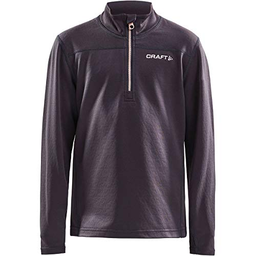 Craft Pin Halfzip Jr - asfalt/Touch