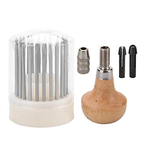 EVTSCAN Perlenwerkzeuge, 24-tlg. Beader-Set für Diamant-Steinfassung Graver Jewelry Equipments