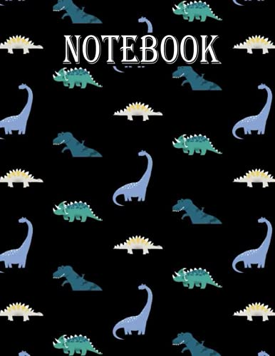 Dinosaur Sketch Book: Notebook for Drawing, Writing, Painting, Sketching or Doodling, 110 Pages, 8.5x11
