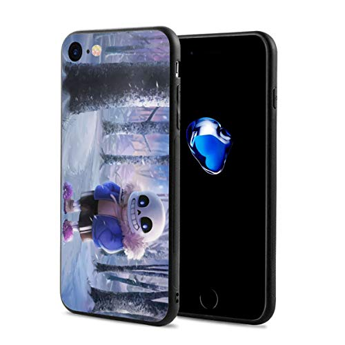 Under-Tale Sans Compatible iPhone 7 iPhone 8 and iPhone SE 2020 Case Shockproof Flexible Bumper TPU Soft Case Cover Phone Case