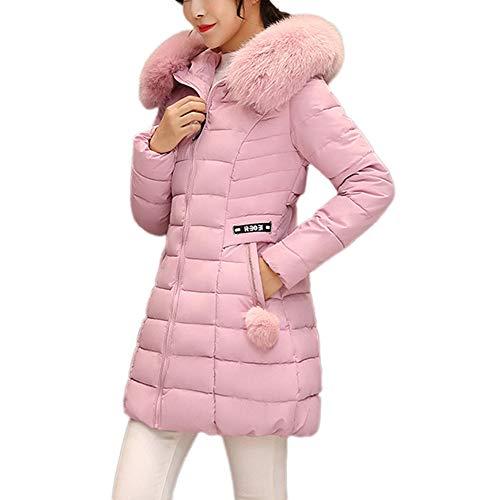 cappotto donna offerta Homebaby Giacca Donna Invernali Offerta Elegante Caldo Taglie Forti Cappotto Imbottito Donna Autunnale Cotone Cardigan Frontale Aperto Classico Giubbotto Outwear