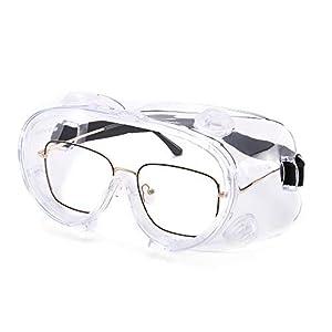 Carfia Gafas de seguridad Lentes antiniebla transparentes Antiproyecci/ón Lentes a prueba de polvo Lentes personales de protecci/ón ocular