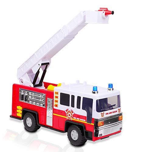Playkidiz Giocattolo per Camion dei Pompieri da...