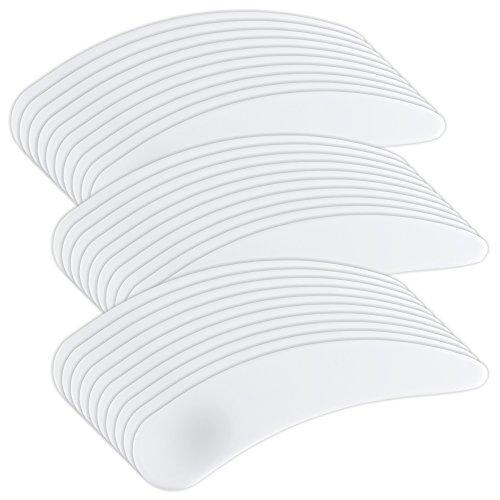 30 Stück Plastikspatel Cremespatel weiss - Spatel für Creme Maske Wachs Gel [1x 30 Stück]