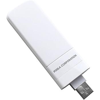 ピクセラ LTE対応USBドングル ホワイト PIX-MT100