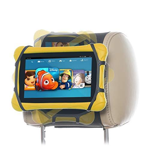 Soporte giratorio universal para reposacabezas de coche para tablets Fire de 7 a 10 pulgadas