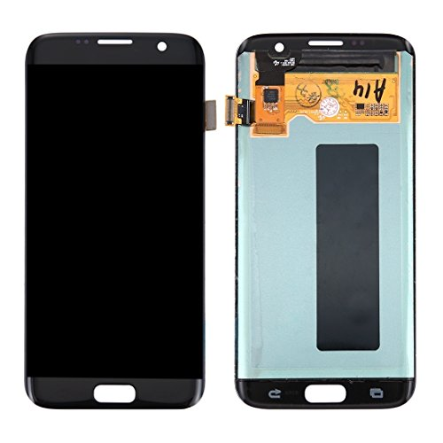 Reserveonderdelen LCD-scherm + Touch Screen Digitizer Compatibel met de Samsung Galaxy S7 Edge / G935 Voor mobiele telefoons (Color : Black)